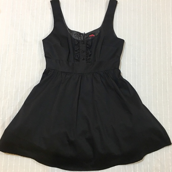 H&M Dresses & Skirts - Silk little black dress! With tulle! fully lined!